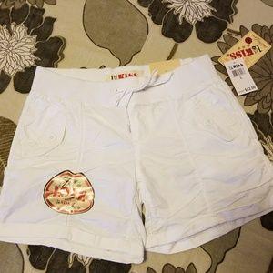 1st Kiss Pants - New White Shorts