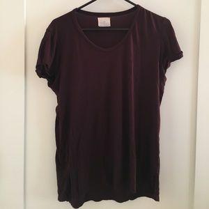 Anthropologie t-shirt size large