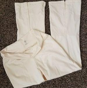 Prana Pants - Prana white cream yoga pants size small S