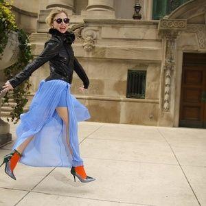 💖pm ed pick & hpx2💖  | zara | maxi pleated skirt