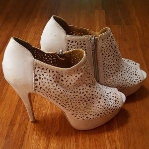 ShoeDazzle Shoes - Suede booties