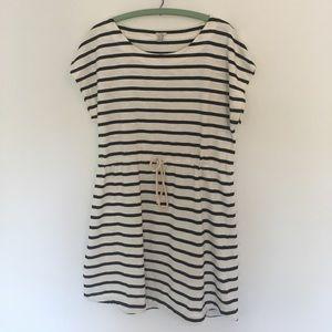 J.Crew Striped Summer Dress Size M