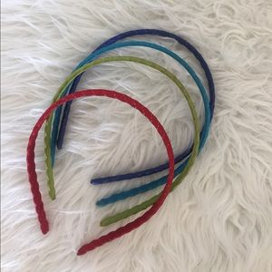 Accessories - Multi colored Headband bundle