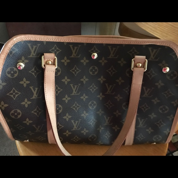 23896cbe0c73 Louis Vuitton Handbags - Monogram Canvas Baxter GM Dog Carrier Bag