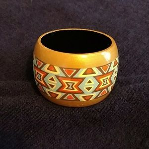 Jewelry - Painted Wood Bracelet