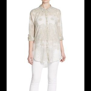 Calypso St. Barth Tops - Calypso St Barth Jennica Printed Cotton Blouse