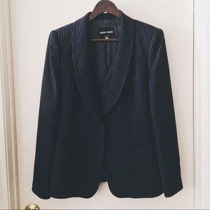 Giorgio Armani Other - • Giorgio Armani • Blue/Black Pinstripe Jacket
