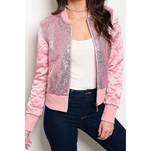 Jackets & Blazers - COMING SOON 7/5! Pink Bomber Jacket