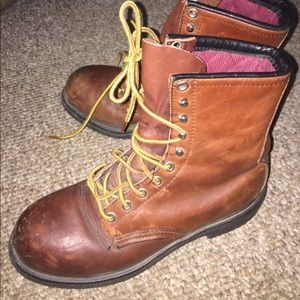Red Wing Shoes Other - Red Wings  steel toe boots, size 6D