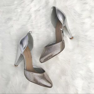 New Look Shoes - New Look • Silver Heels