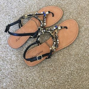 Beautiful jeweled sandals!
