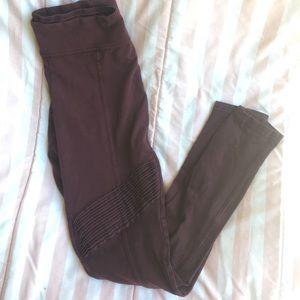 bp Pants - BP Maroon Ruffle Leggings