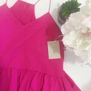 1. State Dresses & Skirts - NWT - Nordstrom 1. State pink ruffle midi dress