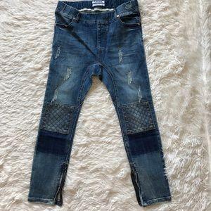 One Teaspoon Denim - One Teaspoon Killers Drop Rise Zipper Ankle Jeans