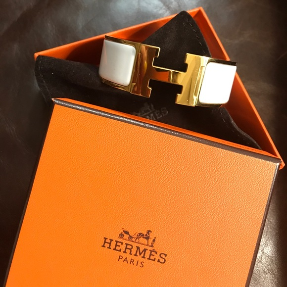 Hermes Jewelry   Clicclac H Bracelet   Poshmark 7cdecb955cc