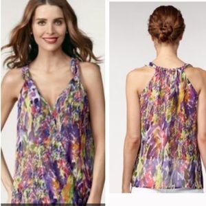 CAbi Tops - Cabi watercolor sleeveless top