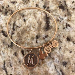 """Alex & Ani Jewelry - Disney Initial """"M"""" Alex & Ani"""