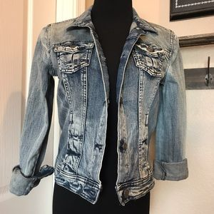 a.n.a Jackets & Blazers - Cropped Denim Jacket