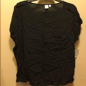 BP Tops - BP Women's Black Short Sleeve Blouse XL