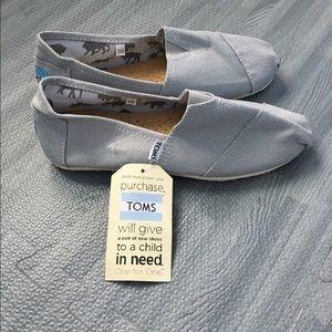 TOMS Shoes - Gray Canvas TOMS