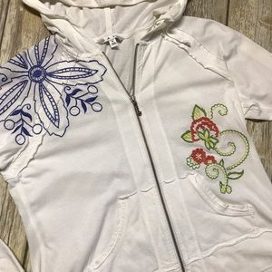 CAbi Jackets & Blazers - Cabi Embroidered Hoodie
