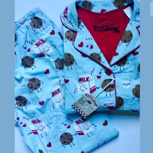 Pj Salvage Intimates Amp Sleepwear Pajamas Cookies And