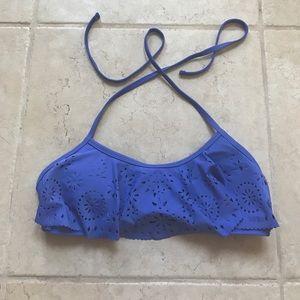 California Waves Other - Blue Bikini Top