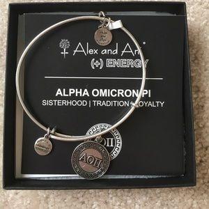 Alex & Ani Jewelry - NWT AOII Alex and Ani bracelet