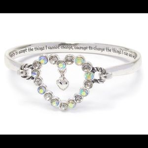 Serenity Prayer Bangle Bracelet