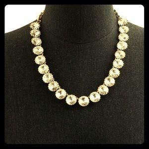 J Crew Jewelry - JCREW Venus Flytrap Rhinestone Necklace 5starS!🍾