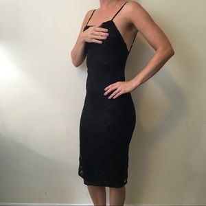 Urban Outfitters Dresses & Skirts - Out From Under Urban Black Lace Bodycon Dress