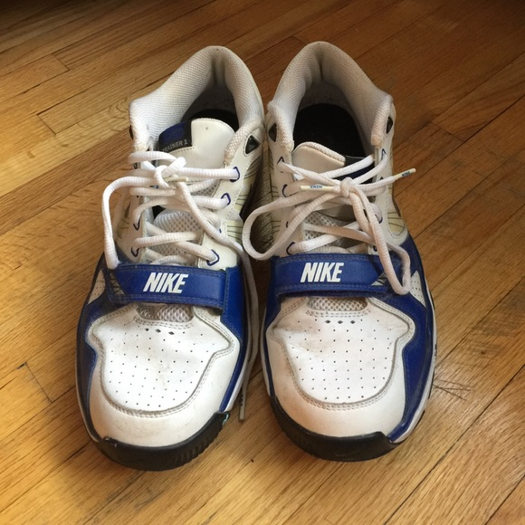 Pair Of Nike Trainers With Velcro Strap