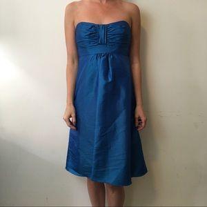 Badgley Mischka Dresses & Skirts - Badgley Mischka Bridesmaids Blue Organza Dress