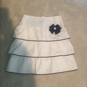Luli & Me Other - Girls Tiered Daisy Skirt