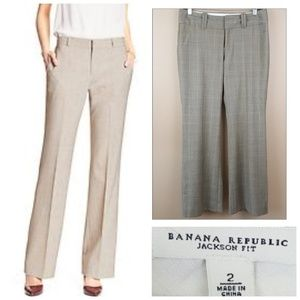"Banana Republic Pants ""Jackson Fit"" Size 2"