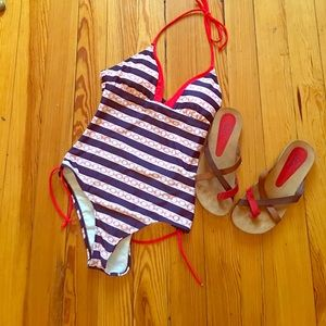 VM Other - Sailor colors red white& blue VM Bathing suit LG