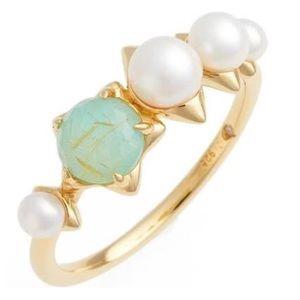 Nadri Jewelry - Nadri pearl and semiprecious ring COMING SOON