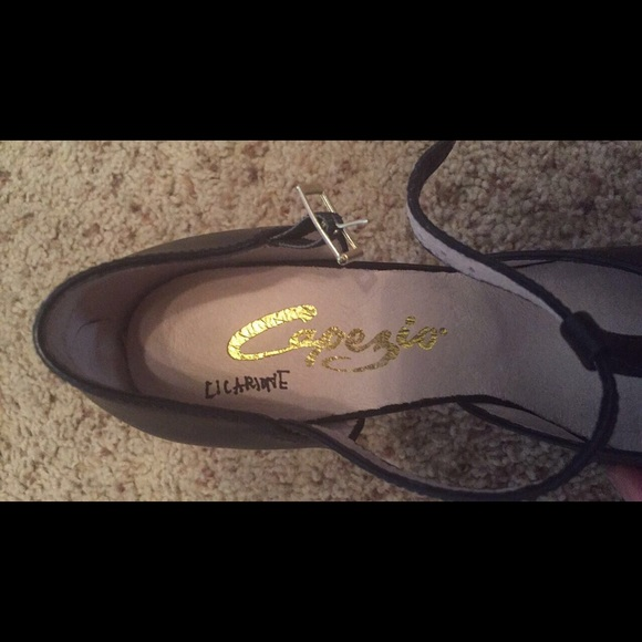 Capezio Women S  T Strap Character Shoe