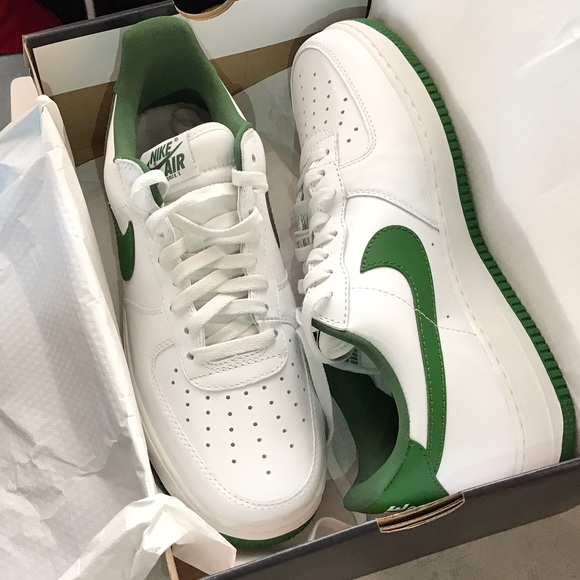 37a0cb66 Nike Shoes   Dead Stock Air Force 1 Low Celtics Colorway   Poshmark