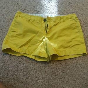 Merona lime green shorts size 10