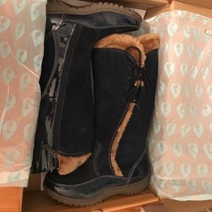 Sporto knee high boots