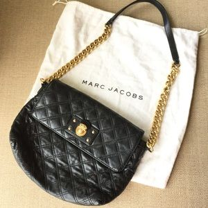 *Authentic* Marc Jacobs Quilted Shoulder bag