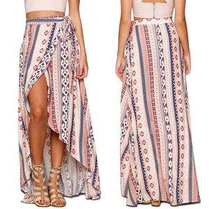 "Dresses & Skirts - 🌸New in! ""Jada"" || Bohemian Wrap Skirt in Blush🌸"