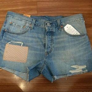 Levi's Pants - Levi's 501 Patch Glow shorts