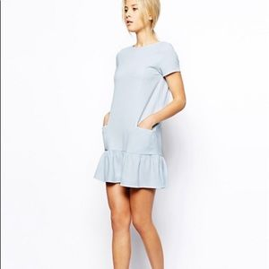 ASOS Baby Blue Pocket Dress