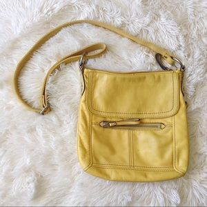 Fossil Handbags - FOSSIL bright yellow cross body bag