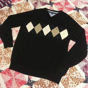 Tommy Hilfiger Other - Tommy Hilfiger Diamond  Sweater x Black