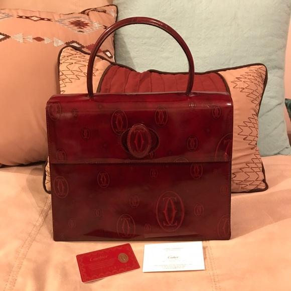 4772cff8f Authentic Cartier Happy Birthday Handbag. M_59504d2d7f0a05694c022889