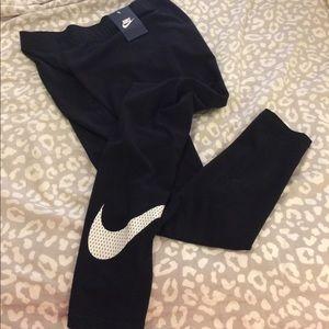 Nike Pants - Woman's Long Length Nike Leggings Swoosh
