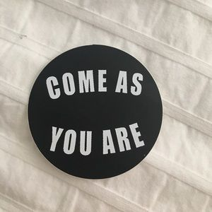 Brandy Melville Other - Come as you are sticker